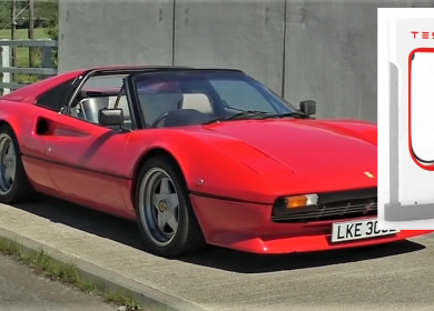 All Electric Ferrari 308 GTE: Absolutely Brilliant Ferrari with Tesla Motor and Batteries