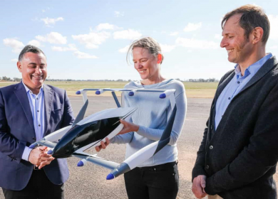 All-Electric Flying Car tech gets $1 million grant in Australia