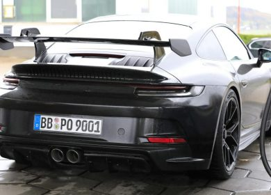 Porsche 911 GT3 Spotted second time at the Nurburgring