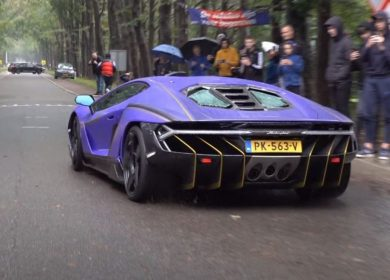 Crazy Lamborghini Centenario Spotted In Netherlands