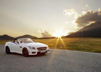 Mercedes-Benz SLK 55 AMG Wallpapers – Magnum Opus