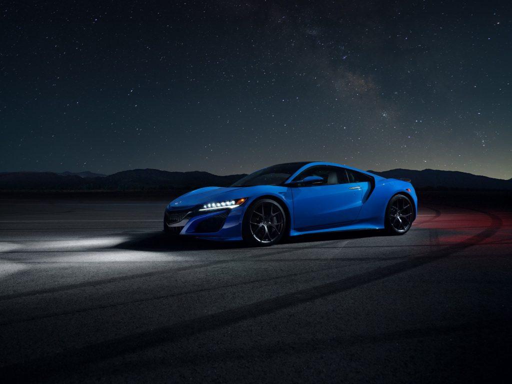 Acura Nsx 2021 In Long Beach Blue Pearl Colour Option Asco