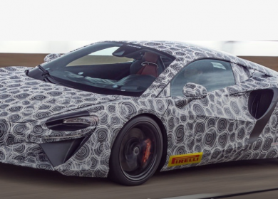 McLaren Artura- New High-Performance hybrid sportscar
