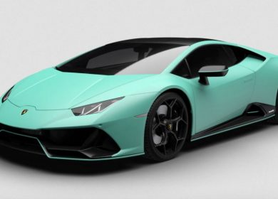 2021 Lamborghini Huracan Evo Fluo Capsule in Neon Colors