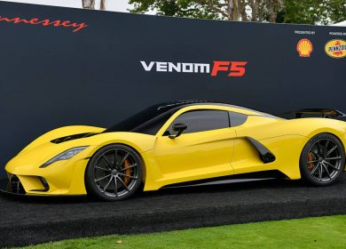 Hennessey Venom F5 teaser video ahead of the debut