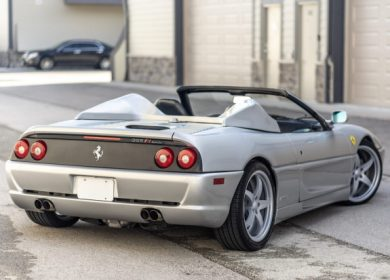 Ferrari F355 Spider for sale: Shaq's Custom Fit car