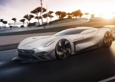 Jaguar Vision Gran Turismo SV Concept Wallpapers