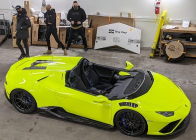 Video: Custom $500k Lamborghini Huracan Evo Speedster!