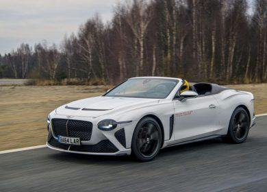 Bentley Bacalar In Testing: 200mph beast