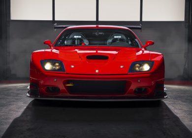 Ferrari 575 GTC Stradale Wallpapers – Prancing horse for the track