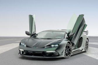 Mansory Cabrera 30th anniversary edition Lamborghini Aventadors