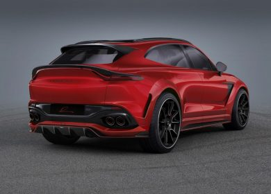 LUMMA CLR AM widebody kit for Aston Martin DBX