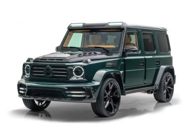 Gronos 2021 Mercedes G63 is a Mansory modified G wagon