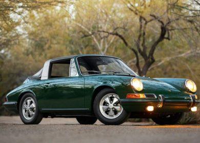 Porsche 911S Soft Window Targa – genuine car up for auction