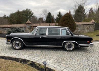 Roy Orbison 1972 Mercedes-Benz 600 up for sale