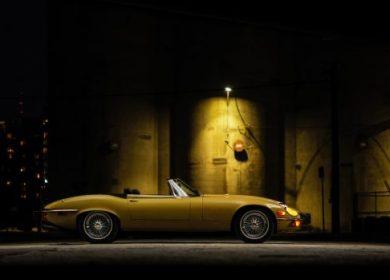1974 Jaguar XKE Roadster – One owner V12 up for auction