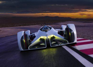 Chevrolet Chaparral 2X VGT Concept – Futuristic Wallpapers