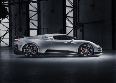 First production Bugatti Centodieci assembly just started