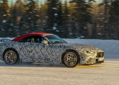 New Mercedes AMG SL – Amazing Spy shots