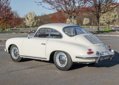 Real 1963 Porsche 356B Super 90 Coupe up for auction