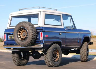 Modified 1974 Ford Bronco up for auction with Bring A Trailer