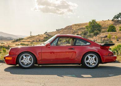 Porsche 911 Turbo S2 1992 model up for auction