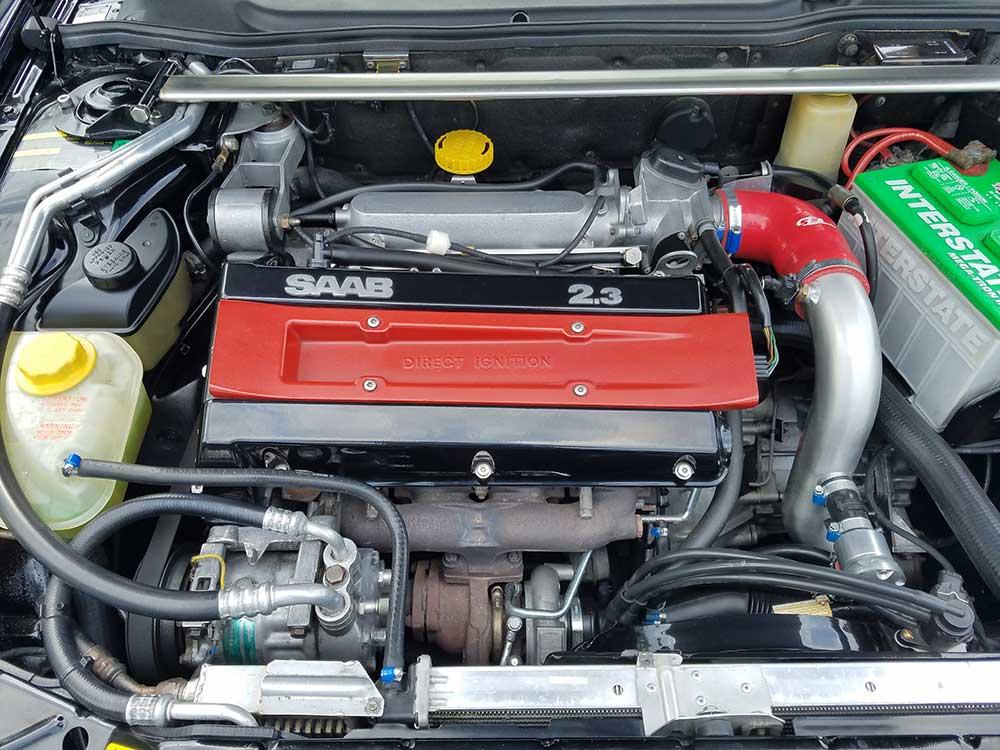 Saab B234R engine