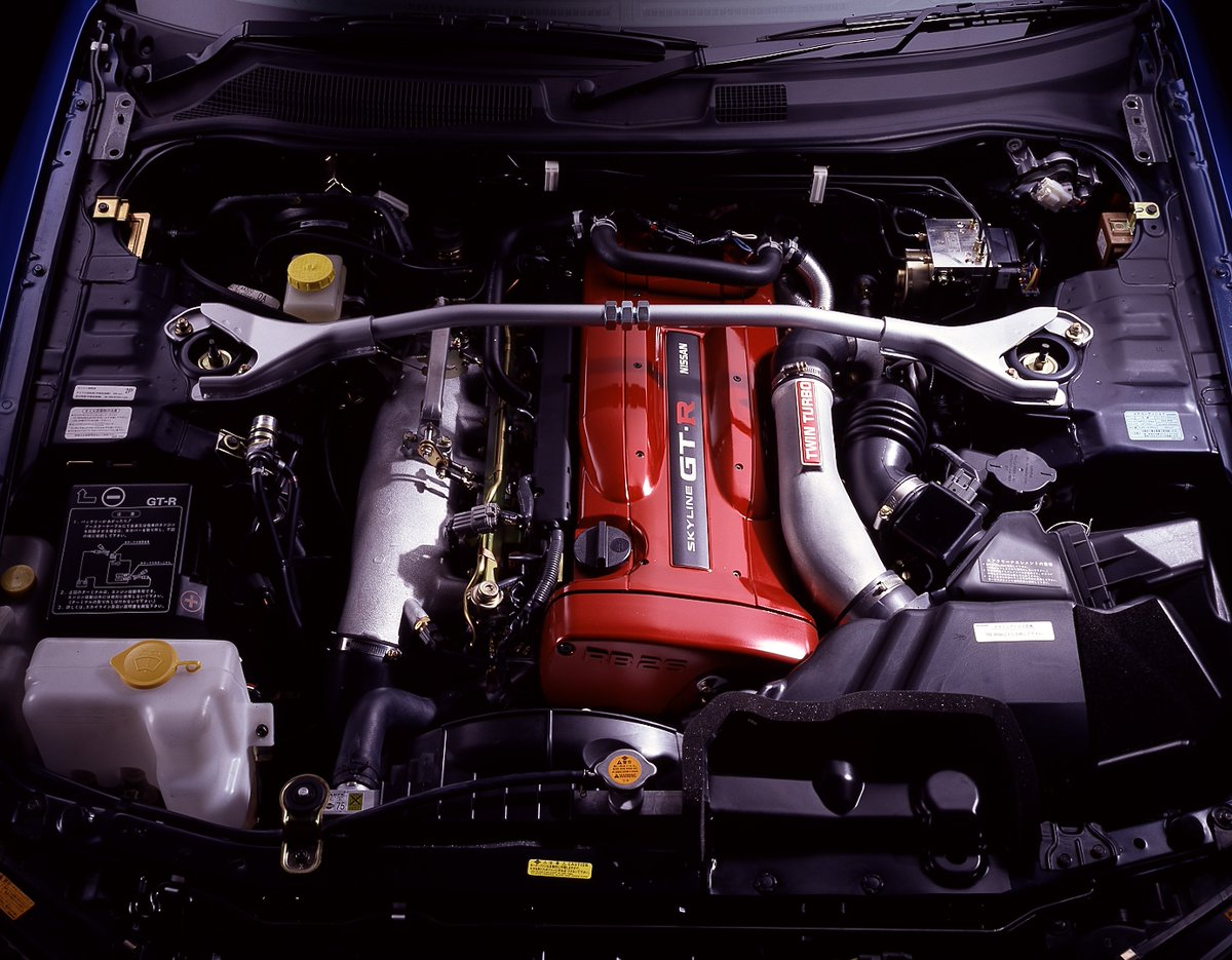 Nissan RB26DETT engine
