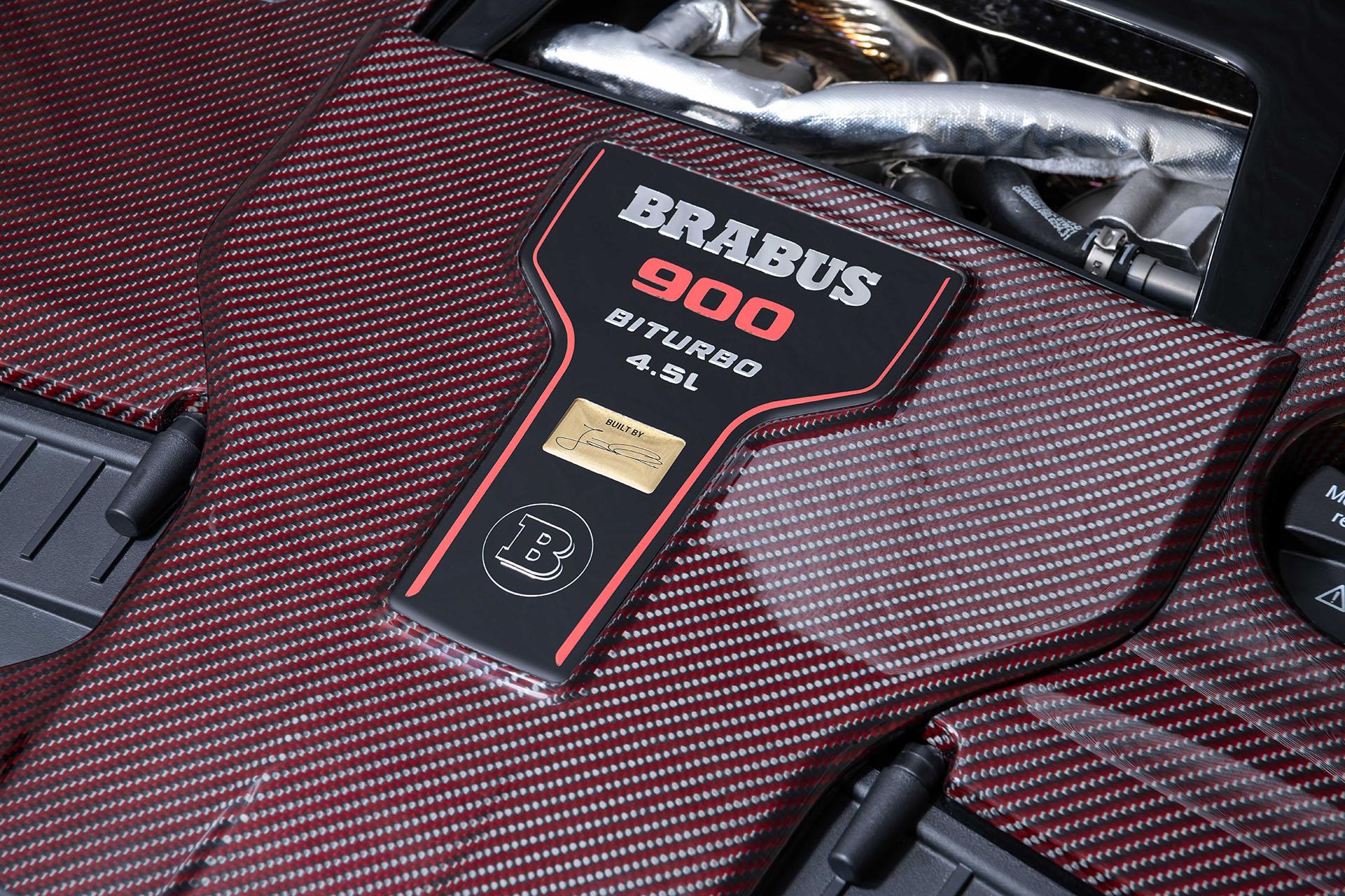 The Brabus 900 Rocket Edition