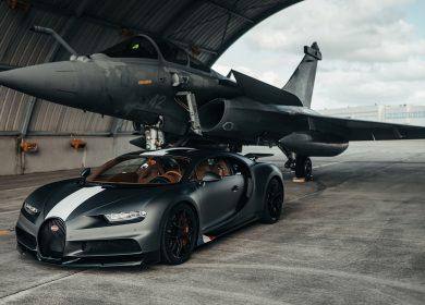 Bugatti Chiron Sport vs Dassault Rafale – Supercar vs Fighter jet