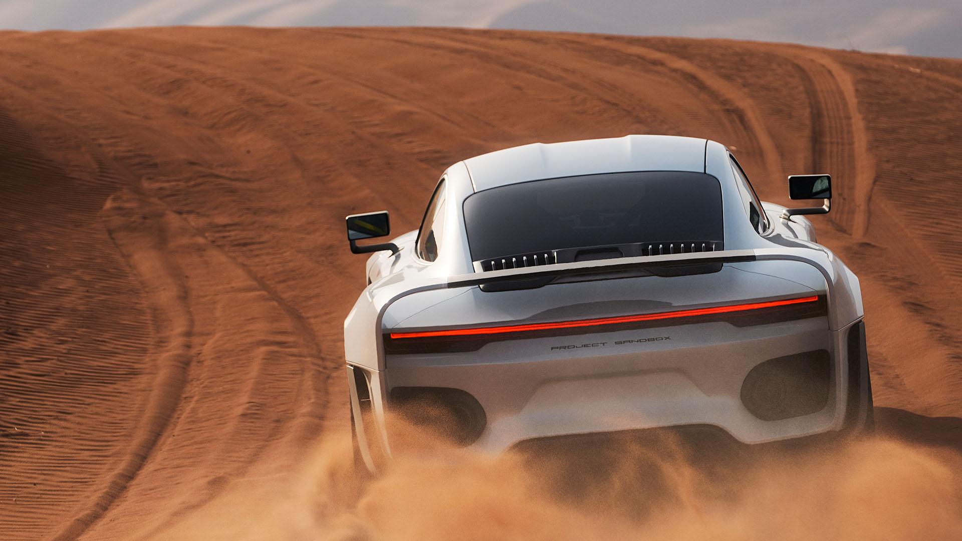 Porsche 959 homage