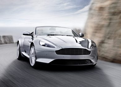 Aston Martin Virage Volante Wallpapers – British elegance