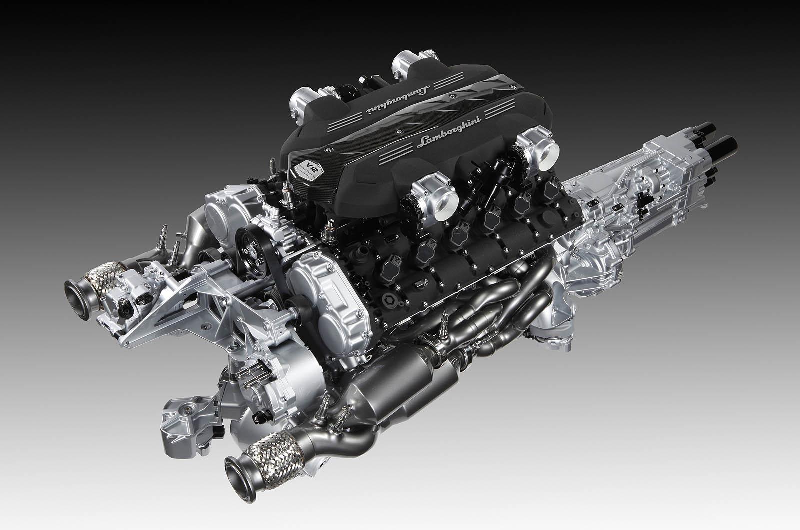 Lamborghini V12 L539 Engine