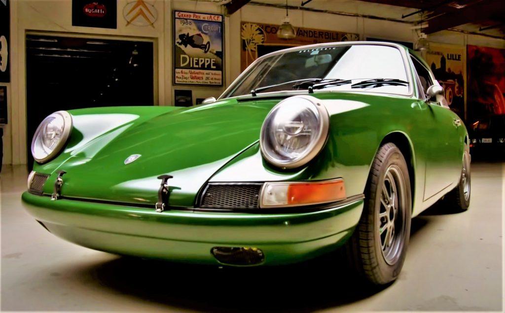 all electric 1968 Porsche 911