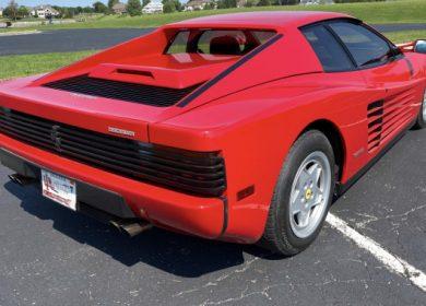 1990 Ferrari Testarossa up for auction with BringATrailer.com